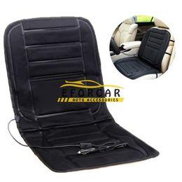 Wholesale Warming Mat - 12V Car Heated Seat Cushion Cover mats pad Car Heated Seats Black Winter Warmer Cushion car Accessories