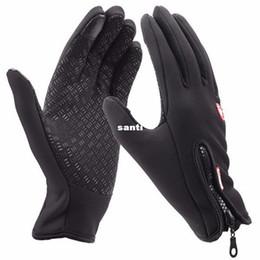 Wholesale Winter Running Gloves - Winter sport wind stopper waterproof ski gloves warm riding glove Motorcycle gloves
