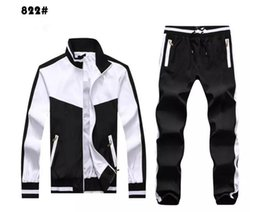Wholesale High Neck Turtlenecks - High Men's Hoodies and Sweatshirts Sportswear Man Polo Jacket pants Jogging Jogger Sets Turtleneck Sports Big horse Tracksuits Sweat Suits