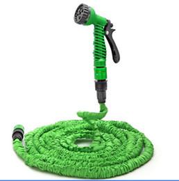 Wholesale Hose Watering 25 - Deluxe 25 50 75 100 Feet Expanding Flexible Garden Water Hose Spray Nozzle Valve Car