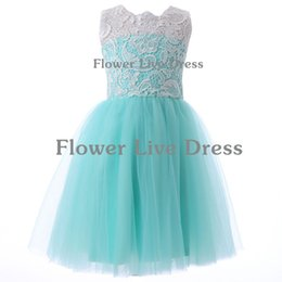 Wholesale Children Dresses Size 14 - 2017 New Sale Freeshipping Button First Communion Dresses Elegant Flower Girl Dress Kids Pageant Party Gown Child Size 2-14