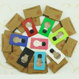 Nuovo arrivo LED Novità Luce LED Carta di credito Luce portatile LED Portafoglio tascabile portatile Carta di credito leggera Mini notte da regali ginnastici fornitori