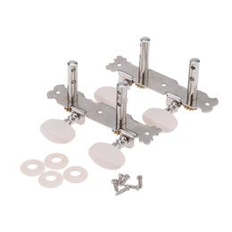 Wholesale Tuning Machines For Classical Guitar - High Quality 1 Pair (2R2L ) 4 Strings Guitar Tuning Pegs Machine Heads Tuner for Ukulele Ukelele Classical Guitar I1112