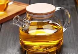 Wholesale glass coffee pots - Fashion Hot 1000ml Heat-Resistan 1000ml Heat-Resistan Glass Teapot simple tea kettle tea-pot Convenient Office Tea Pot coffee pot