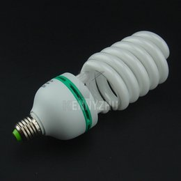 Wholesale Dslr Video Lighting - Continous Lighting E27 115W 135W 150W Photo Studio Bulb Video Light Daylight Lamp 220V 5500K White for Softbox DSLR Camera Photography