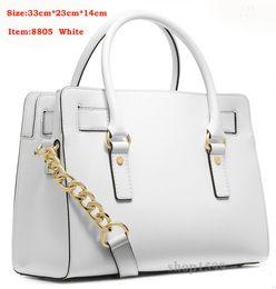 Wholesale Genuine Leather Womens Handbag - 2017 Wholesale - Fashion New Womens bags Drop Shipping Designer Handbags Hottest Totes Luxury bags Genuine PU Leather Handbag 8805