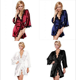 Wholesale Batwing Toy - Sex Dolls For Men 2015 Women Pajamas Sexy Underwear Lady Silk Shirt Thong Clairvoyant Outfit Sleep Wear for Open Crotch 2016 Adult Toys