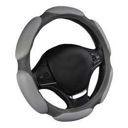 Wholesale Girls Wheel Cover - AUTOYOUTH AUTO Car Steering Wheel Covers Classic Breathe Freely Massage For mazda 3 37-38cm Car Accessories For Girls