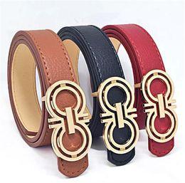Wholesale Kids Boys Belts - 2017New brand designer kids PU leather belts children boys girls Letter buckle Leisure waist strap waistband children Belts