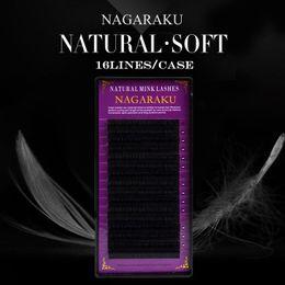 Оптово-5 чехлов, высококачественное наращивание ресниц NAGARAKU, накладные ресницы, индивидуальные ресницы, натуральные ресницы от