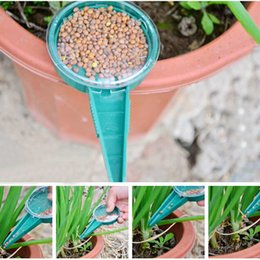 Wholesale Grass Seed Planting - Quite Useful Home Garden Tool Plastic Flower Plant Grass Planter Seeds Starter Gardening Tools Disseminator Sower Planter q171128