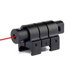 Wholesale Mini Red Dot Laser Weaver - 1mW Outdoor Tactical Red Laser Dot Sight 650nm Mini Hunting Dot Sight With 21mm Picatinny Weaver Rail.