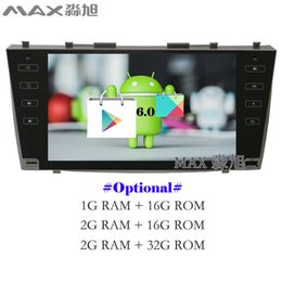 Wholesale Camry Inch Touch Screen - Android 6.0 Car DVD Player for Toyota Camry 40 2006 2007 2008 2009 2010 2011 with Radio BT 4G WIFI SWC GPS