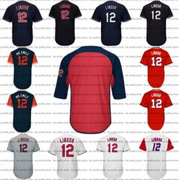 Wholesale Clock M - Mens Francisco Lindor Jersey Turn Back the Clock Francisco Lindor Nickname Mr. Smile Cooperstown Throwback Puerto Rico Baseball Jerseys