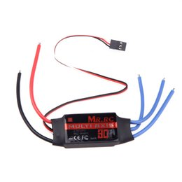 Wholesale Align Brushless Esc - MR.RC 30A Brushless ESC Speed Controller For DJI Flame Wheel F450 Align TREX 450 Helicopter FPV Multicopter Qudcopter Part order<$18no track