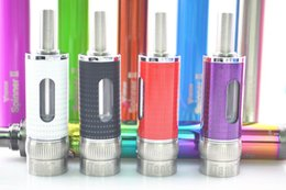 Wholesale Spin Airflow - 2015 New iTank spin II airflow control atomizer dual coils replaceable clearomizer fit ego vision spinner 2 II 3 eGo Evod Twist battery