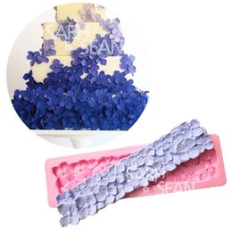 Wholesale Nail Moulds - M0863 Nail-Headed Border Decoration Moulding Fondant Cake Mold Soap Chocolate Mould for the Kitchen Baking