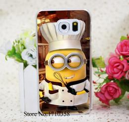 Wholesale Cover S4 Minions - Wholesale-minions chief Transprent Hard Case Cover for Samsung Galaxy S6 & Edge S5 & Mini S3 & Mini S4 & Mini