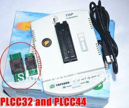 pic usb programmer NZ - Free Shipping Best price USB universal programmer EPROM MCU PIC AVR TOP3000 Gift: PLCC32 PLCC44 Converter Free order<$18no track