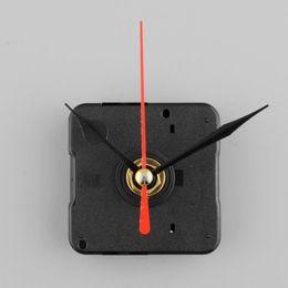 Wholesale Clock Movement Kit Free Shipping - Silent Clock Quartz Movement Mechanism Red and Black Hand DIY Part Kit Tool Set Free Shipping