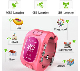 Wholesale Gsm Watches Wifi - Q50+ Smart watch for Kids Safe GPS tracking Watch GSM Wifi Wristwatch Y3 SOS Call Finder Locator Tracker for Kids Anti Lost Monitor