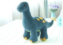 Wholesale Dinosaur Plush - Free Shipping large dinosaur stuffed animal pattern Soft Plush Animal Kids Toys 40-49 CM