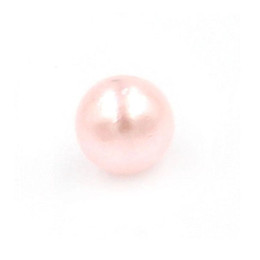 Wholesale Pink Floating Pearls - Pearl charms fashion jewelry floating charms 4mm pink pearl beads charms floating charms for origami owl glass locket