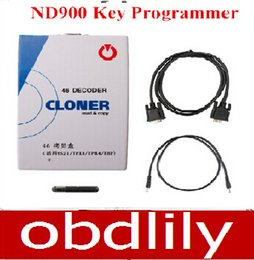 Wholesale Land Rover Ids - 2017 Newest ID46 Decoder Box ID 46 Copy Box ND900 Key Programmer id46 cloner Support all ID46 Chip
