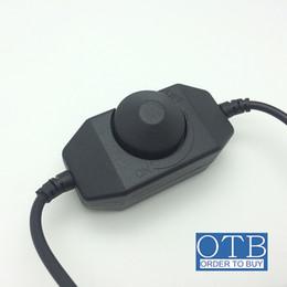 Wholesale Dc Led Dimmer Switch - 12V LED Dimmer Controller Brightness Adjust Switch 1Channel Dimmer for 3528 5050 5630 Single Color LED Strip Light