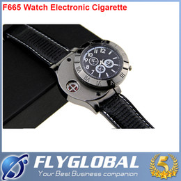 Wholesale Christmas Cigarette Lighters - Wholesale-F665 watches charging lighter creative personality USB electronic cigarette lighter metal lighter Mens Watch best quality