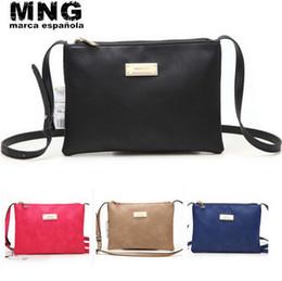 Wholesale Envelope Shoulder Bag - 2015 HOT SELL Retro Messenger Bags Casual Fashion Women Soft Leather Handbags Vintage Shoulder Bag Free Shipping