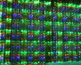 fundos digitais do casamento Desconto Novo 8 * 3m1024 LED modelo digital 16metergasis LEDs casamento luz de fundo cortina Xmas luzes do partido de Natal luzes AC110V-250V