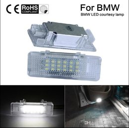 Wholesale Bmw Front License Plate - 2pcs No Error LED Courtesy Door Light Replacment Lamp for BMW e39 e53 X5 530d 530i