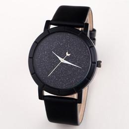 Новые Часы Луна Звезды Дизайн Аналоговые Наручные Часы Женщины Девушка Леди Уникальный Прохладный Подарок Кварцевые Повседневная Мода Часы от
