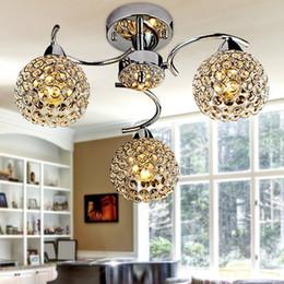 Wholesale 12v Incandescent - K9 crystal pendant lamp lustres de sala E14 abajur living room modern bedroom lustre lampshade pendant lights lustres de cristal
