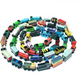Wholesale Toy Train Sets Wholesale - Thomas Trains Toy Magnetic Thomas and Friends Anime Wooden Train Car Wooden Magnetic Puzzle Toy Cars and Locomotives toy