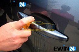 Koruyucu Film Sticker adhensive Araba için Kapı Doorknob Temiz ve su geçirmez 9.5 * 8,3 cm 40pcs tutun Kolları supplier car handle stickers nereden araba kolu çıkartmaları tedarikçiler