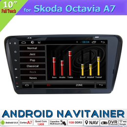 2019 corolla de navegação de gps de carros toyota Android Multimídia Central 2 Din Car Dvd Rádio GPS para Skoda Octavia A7 com Quad Core GPS Estéreo Bluetooth RDS FM