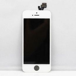 Мобильный полнофункциональный телефон онлайн-Wholesale-High quality Repair Parts Mobile Phone Display For  5 Lcd Display Touch Screen Digitizer Full Assembly