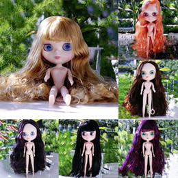 Wholesale Nude Dolls - Wholesale- Nude Blyth Dolls DIY Collection No Colothes No Shoes BJD Toy For Girls