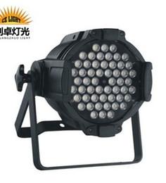 Wholesale 54 Led Par Lights - Intelligent energy saving and environmental protection professional bar stage LED lamps 54 LED 3W waterproof par Par Light AC90-245V