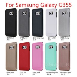 Wholesale Hard Galaxy Ace - Caseology For Samsung Galaxy G355 Top fashion Phone case For Samsung Galaxy J1 ACE Armor Hybrid PC TPU Hard Case Cover