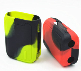 Wholesale cover swag - Vaporesso Swag 80W Silicone Cases Silicon Skin Cover Bag Rubber Sleeve Protective Skin For Swag 80 Watt Box Mod Kit Vape 10 Colors