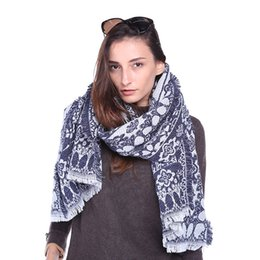 Wholesale Pashmina Tassel - 6 Colors Temperament Retro Print Scarf, 2018 New Fashion Tassel Scarf, Ladies Fall Shawl Accessories, Fashion Scarf Wholesale