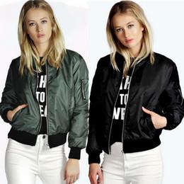 Wholesale Round Neck Denim Jacket - Female Casual Denim Jacket Bomber Jacket Solid Color Stitching Round Neck Long-Sleeved Baseball Uniform Short Coat Style
