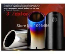 Wholesale Mk Cases - car styling exhaust pipe car covers case for VW Volkswagen golf 6 golf 7 mk 6 mk7 JETTA Scirocco Sagitar 1.4T TSI