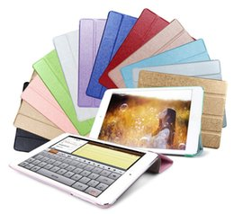 Wholesale Gold Ipad Mini Case - For iPad Air2 Fold Magnetic Smart Cover For iPad Air 2 3 4 5 6 iPad Mini Mini2 3 Retina Folding Case With Auto Sleep Wake MOQ:20pc
