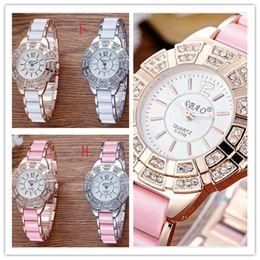 Wholesale Ceramic Clocks - HOT Famous Brand Watches Women Casual Designer Wrist Watch Ladies Fashion Luxury Quartz Watch Table Clock Reloj Mujer Orologio