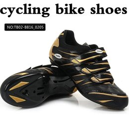 Wholesale Tiebao Road Bike Cycling - free shipping! Hight Quality road cycling shoes TIEBAO road riding shoes,sports equipment bicycle riding road bike shoes