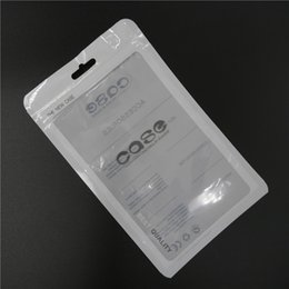 Wholesale Apple Iphone Size - Retail Package Pouch OPP Poly Plastic Dustproof Bag Pocket 18.5x11.5CM Large Size for Samsung Galaxy S3 S4 iphone Leather Case Cover